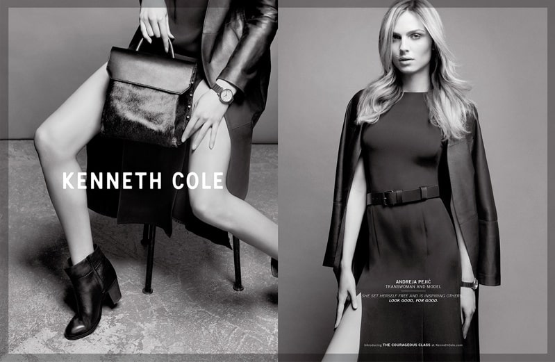 "Kenneth Cole's ""Role Models"" To Model Fall Looks"