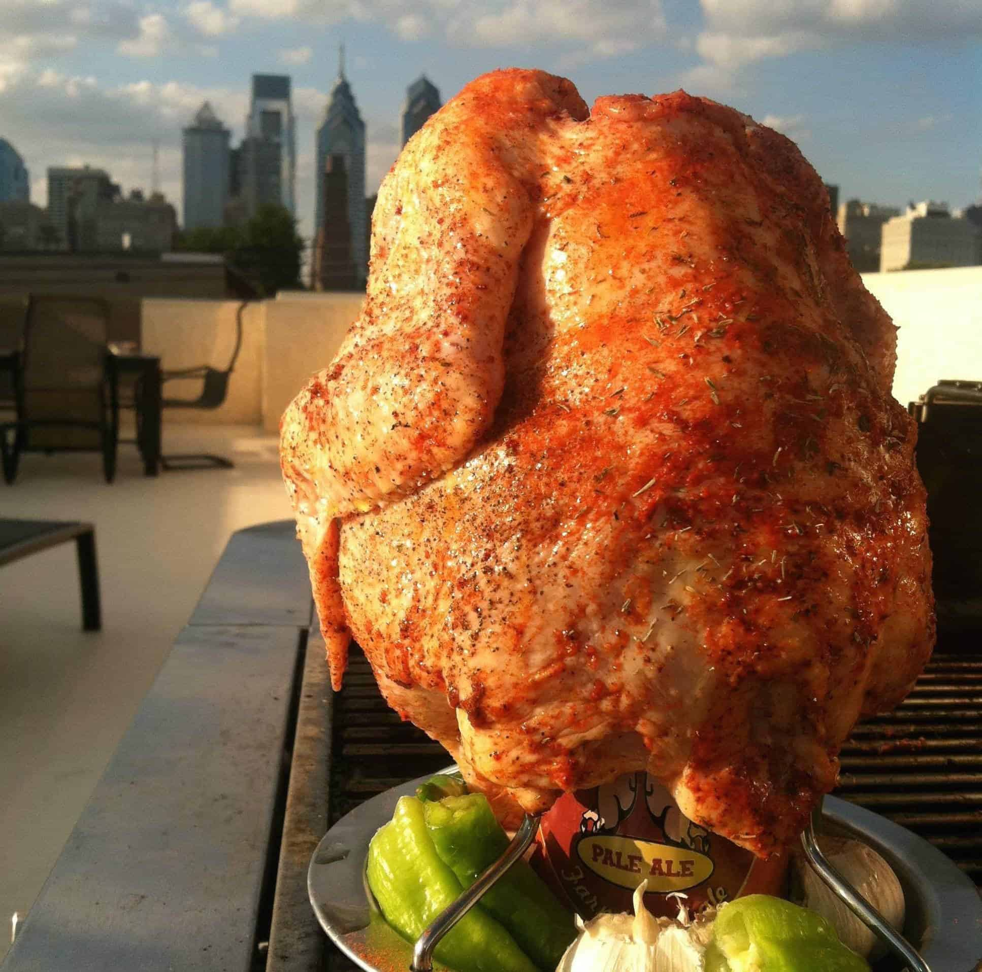 The Juicy Perfection of Beer Can Chicken