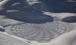 Winter Wonder - Art Made by Walking