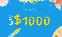 Art Students: Win $500 - $1,000!
