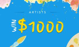 Art Students: Win $500 - $1,000!